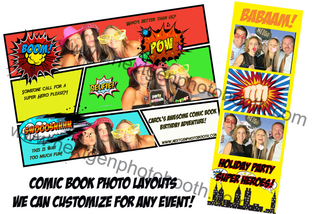 comic book photo booth rental nyc-nj-ct-pa