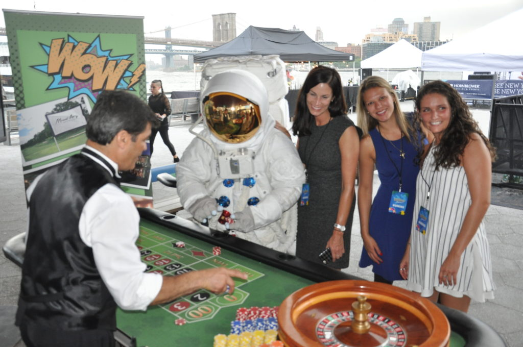 moon man at z-100 event
