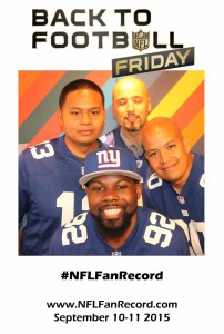 NFL hashtag photo booth