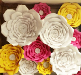 Paper flowers for Special Events