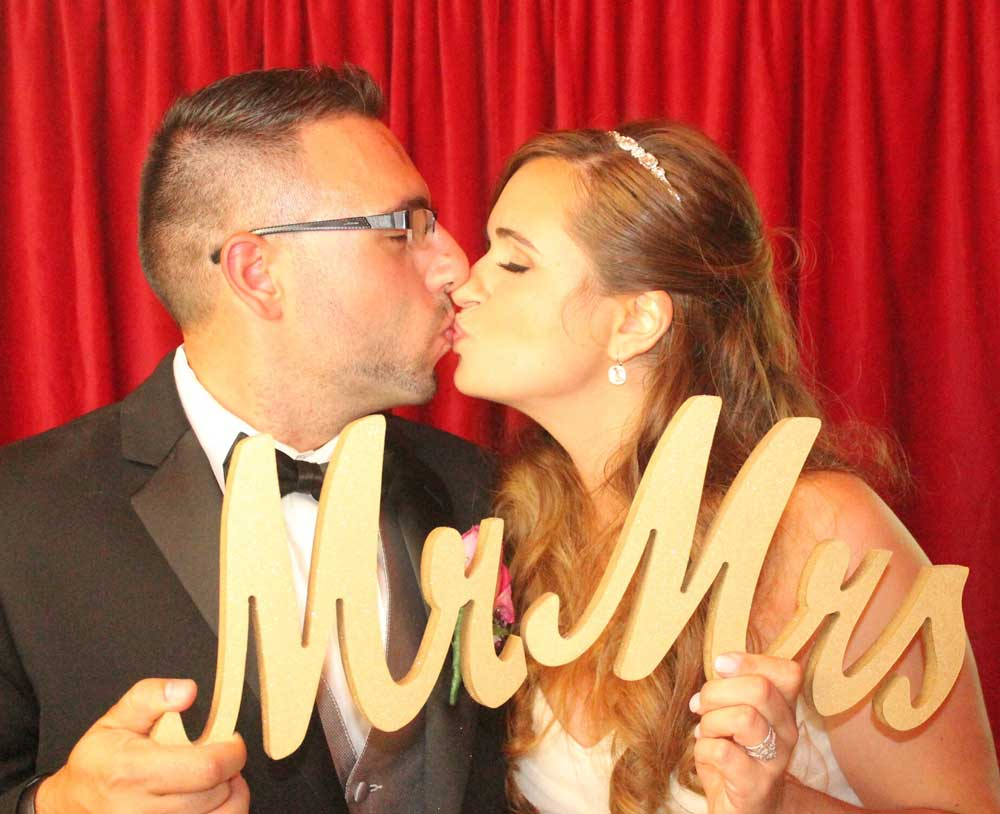 Wedding Photo booth rental NJ Wedding Reception